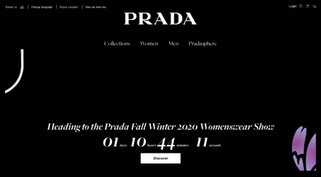 Prada US Official Website | Thinking fashion since 1913