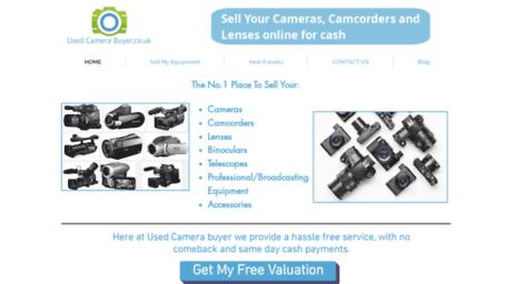 Visit Usedcamerabuyer co uk - Sell My SLR Digital Cameras