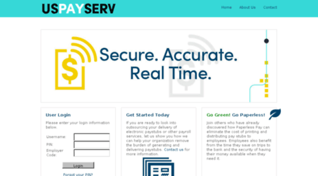 uspayserv electronic payroll services