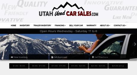 Utah Used Car Sales >> Visit Utahusedcarsales Com Used Cars Draper Ut Used Cars