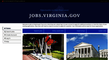 Visit Virginiajobspeopleadmincom Commonwealth Of Virginia Job