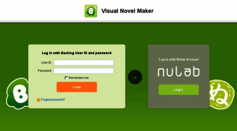 Visit Vnmaker backlogtool com - Backlog | Visual Novel Maker