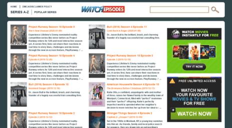 Visit Watchepisodes cc - Watch Episodes  Series Online  All