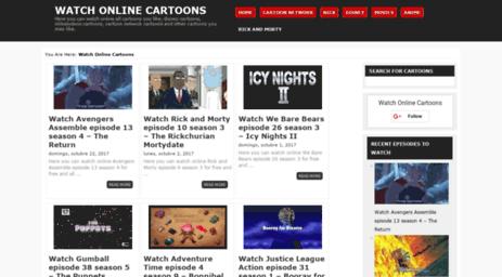 Visit Watchonlinecartoons net - Watchonlinecartoons net