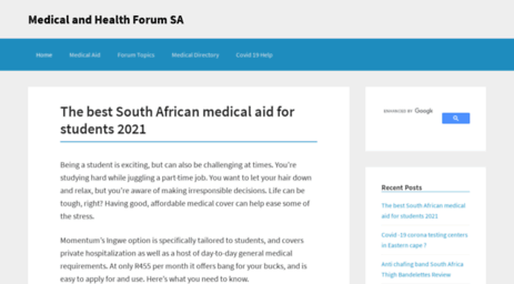 Visit Webmed co za - The South African Medical Directory