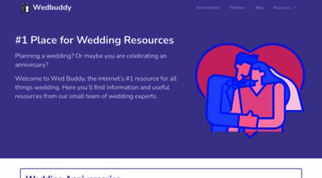 Visit Wedbuddy com - Wedding Websites - Create & Customize
