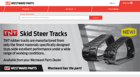 Visit Westwardparts com - Westward Parts - Home