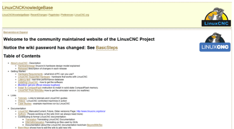 Visit Wiki linuxcnc org - LinuxCNC Documentation Wiki