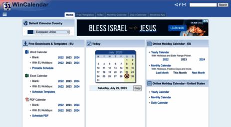 Visit Wincalendar Com Wincalendar Calendars Holidays Days Today