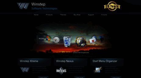 Visit Winstep net - Winstep Software Technologies - Desktop