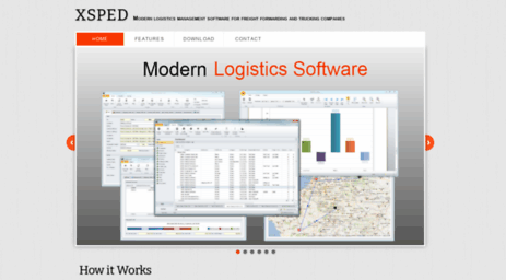 Visit Xsped net - MARKUS XSPED - Modern logistics management