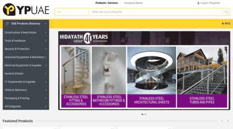 Visit Ypuae com - Yellow Pages UAE by Lunad Online Yellow Pages for