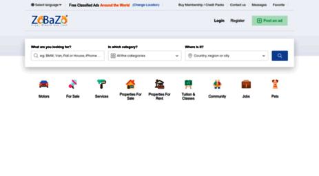 Visit Zobazo com - Free classifieds, free ads, classified ads, free