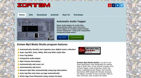 Visit Zortam com - Mp3 Tag Editor,Mp3 Tagger,Auto Tag Mp3»Zortam