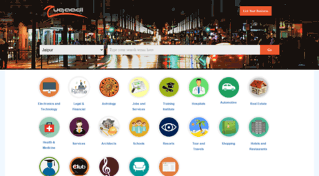 Visit Zugaadi com - Zugaadi- Business Directories India | Yellow